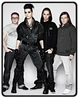 New Tokio Hotel Tom Bill Kaulitz 60X50 Fleece Blanket Fleece Throw