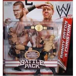 RANDY ORTON & CHRISTIAN WWE MATTEL SERIES 16 2 PACK ACTION FIGURE TOY