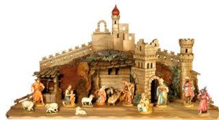 Bernardi Tavella 4 3 17 Piece Nativity Set w 08FA3 11