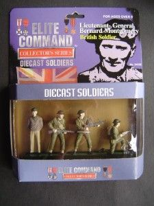 Elite Command Diecast Soldiers Montgomery Collectable