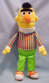 Large Sesame Street Muppet Bert Looking for Ernie CQQL