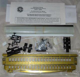 HO Scale Model Railroad Kit Bethlehem Car Works BOSTON & MAINE OSGOOD