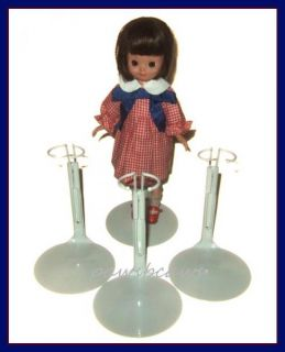 SHIPPING 3 White KAISER Doll Stands for 8 Tiny Betsy McCall KICKITS