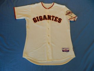 Billy Hayes 2012 San Francisco Giants Game Used Jersey