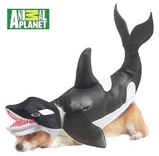 animal planet orca whale dog pet costume new