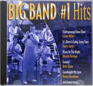 Big Band 1 Hits Various Artists New SEALED CD Jazz 779836117120