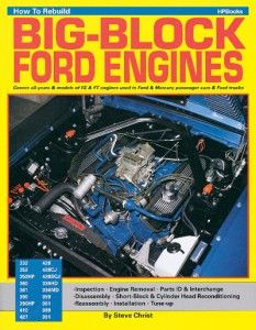 Rebuild Big Block FE Ford Engines Book 352 390 427 428
