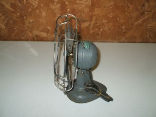 All Metal Antique Electrex Fan Table Top Desk Works 9