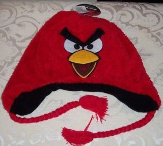 angry birds plush hat in Unisex Clothing, Shoes & Accs