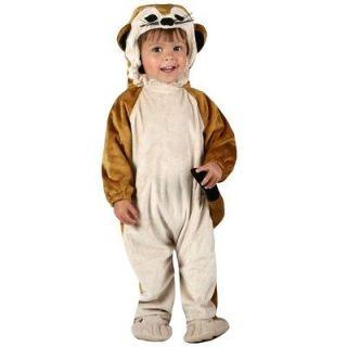 ANIMAL PLANET MEERKAT Baby Toddler Costume Romper + Headpiece 12 18