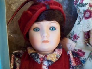 Musical Betty Jane Carter Doll Bette Ball Goebel 1992 Mother Daughter