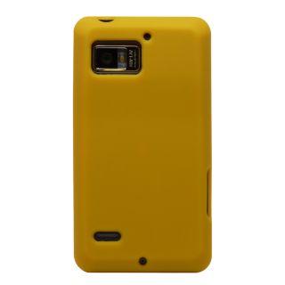 Silicone Gel Soft Cover Case Skin Verizon Motorola Droid Bionic 4G