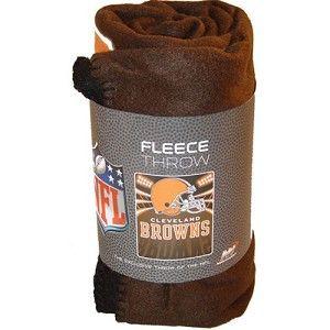 Cleveland Browns Football Official NFL Fleece Blanket Throw