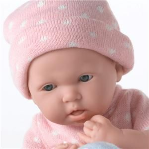 BERENGUER LA NEWBORN REAL GIRL 15 Doll Anatomically Correct NEW