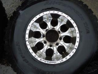 Ford Super Duty 17 Inch Wheels & Tires BF Goodrich 37x12.50R17 8 Lug
