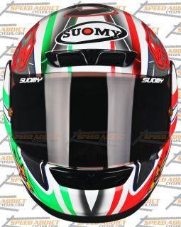 Suomy Apex Spec 1R BIAGGI Limited 2011 Full Face Motorcycle Helmet