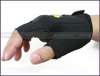 package includes 1 x cycling bike bicycle half finger gloves