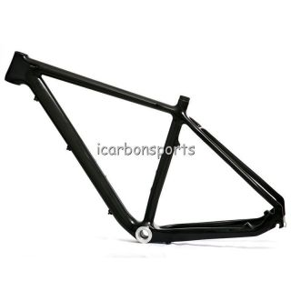 29er Full carbon MTB Mountain bike bicycle frame 3K Glossy w o