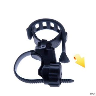 Swivel Holder Cycling Bicycle Bike Mount Clip for LED Flashlight Laser