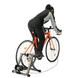 Rad Cycle Bike Trainer Indoor Bicycle Exercise Six Levels of