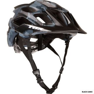 Fox Racing Flux Mountain Bike Bicycle Helmet Black Camo All Sizes New