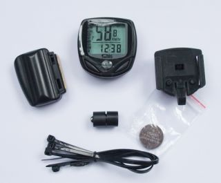 Cycling Wireless LCD Bike Bicycle Computer Odometer Speedometer