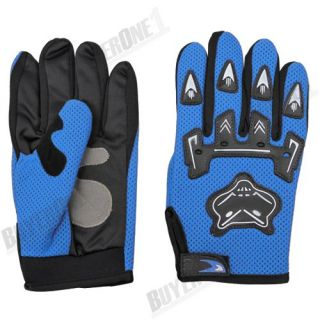 Bicycle Bike Cycling Motorcycle Full Finger Pad Gloves