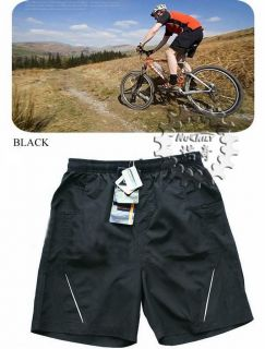 MTB Cycling Shorts Pants Underwear Detachable 2 Layers 3D Padded Bike