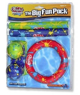 Pool Party Fun Water Toy Toys Game Games Pack Dive Sticks Rings