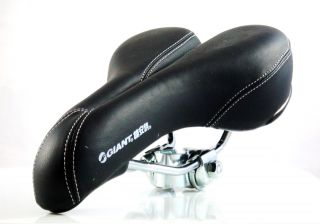 Bicycle Bike Seat Saddle Extra Wide Middle Groove Gel
