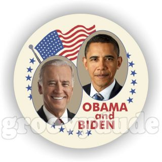2012 for President Barack Obama Biden 1948 Style Campaign Buttons Pins