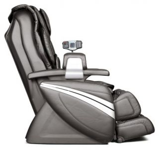 New Cozzia EC 366 Black Leather Full Body Zero Gravity Massage Chair