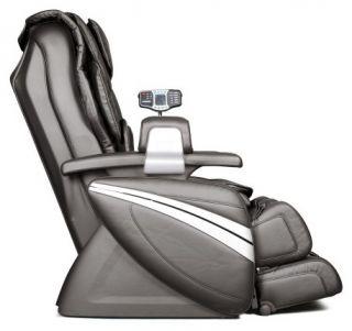 New Cozzia EC 366 Black Leather Full Body Zero Gravity Massage Chair