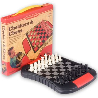 Chess and Checkers Multiple Game Combination Travel Set Small