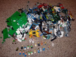 Large Lego Lot Minifigs Star Wars Legos Soccer 3409