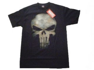 PUNISHER NO SWEAT SKULL LOGO FRANK CASTLE Marvel tee t shirt S M L XL