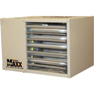 Big Maxx Natural Gas Garage/Workshop Heater  80K BTU #MHU80NG
