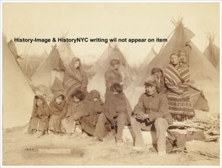 1891 Big Foot LAKOTA Sioux Pine Ridge Indian Photo