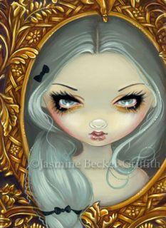 Rococo Rapunzel Gothic Big Eye Fairy Tale Art Big Print