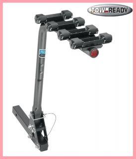 Bike Carrier 4 Bike Rack w Tilt Function 2 Trailer Hitch Receiver