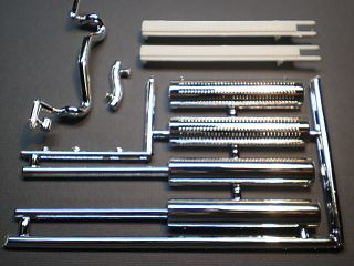 25 Model Big Rig Chrome Exhaus Sacks Semi racor railer ruck