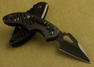 Black Widow Tactical Pocket Folding Knife w Box Camping Hunting Best