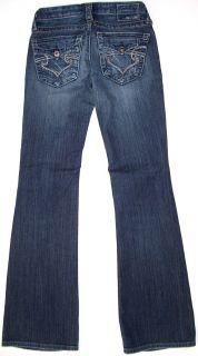 Big Star SWEET Jeans Low Boot Cut Pant Denim Womens Sz 23 31 R SKU 082