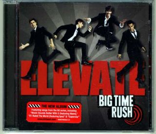 Unopened 2011 Big Time Rush Elevate CD Album Featuring If I Ruled The