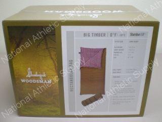 Slumberjack Woodsman Big Timber 0 Degree Sleeping Bag Long