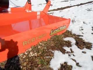 Landpride New 2011 RCR1260 Rotary Mower 60 Cut 3 Point Hitch 125