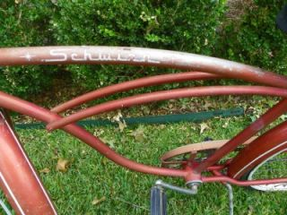 Schwinn Vintage Mens Bicycle Bike Typhoon Early 1960s All Original