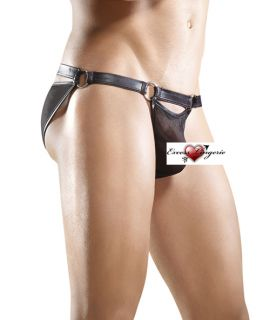 Male Power Ring Bikini Brief Stretch Mesh See Thru