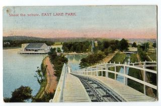 082712A Vintage Birmingham Al Alabama Postcard East Lake Park Shoot