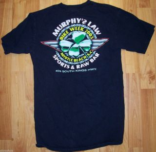 RARE Bike Week 2003 Event Shirt Wear This on Your Motorcycle Cheap